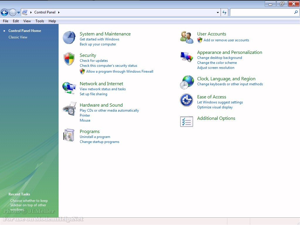Windows Vista Screenshots