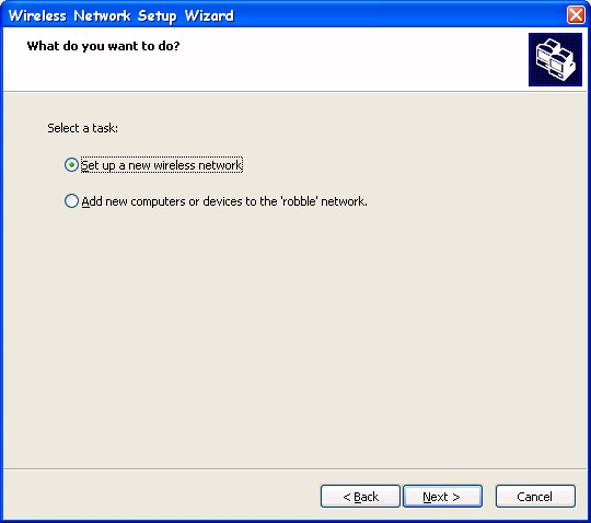 how to run wireless setup wizard